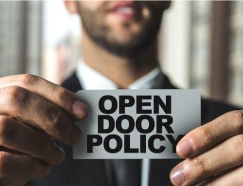 Are Open Door Policies a Good Idea?